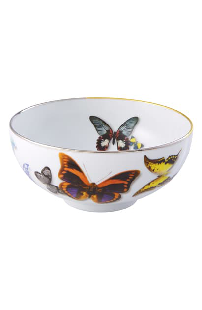 Christian Lacroix Butterfly Parade Soup Bowl In Multi