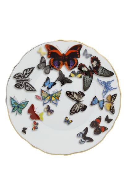 Christian Lacroix Butterfly Parade Dinner Plate In Multi