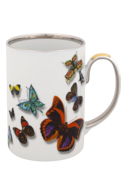 Christian Lacroix Butterfly Parade Mug In Multi