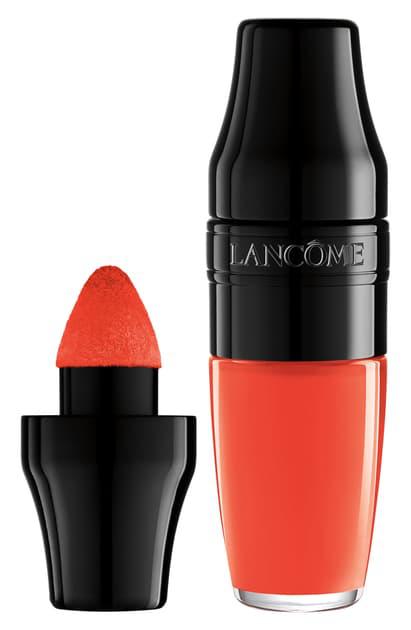 LancÔme Matte Shaker High Pigment Liquid Lipstick In Magic Orange