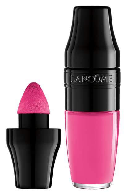 LancÔme Matte Shaker High Pigment Liquid Lipstick In Yummy Pink