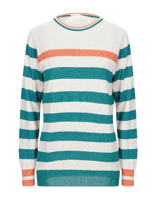 Chiara Bertani Sweater In Beige