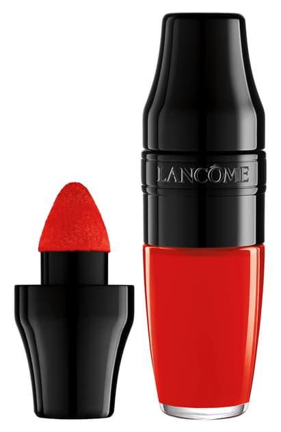 LancÔme Matte Shaker High Pigment Liquid Lipstick In Red-y In 5