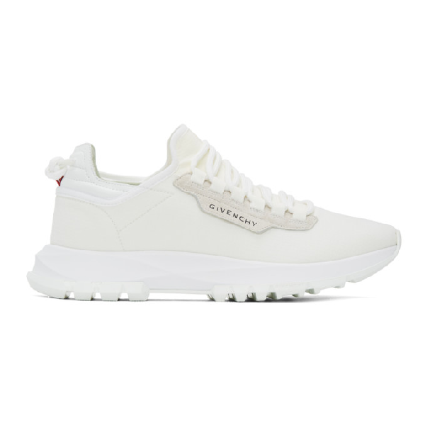 Givenchy Spectre Sneakers In White Tech/synthetic
