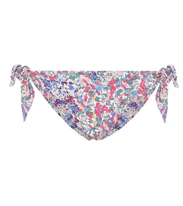 Isabel Marant Sukie Floral Bikini Bottoms In Multicoloured