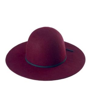 San Diego Hat Company Floppy Hat In Burgundy