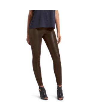 Kendall + Kylie Faux Leather Leggings In Mulch