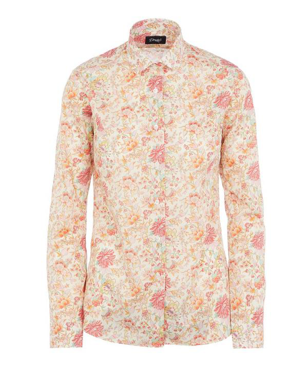 Liberty London Christelle Classic Shirt In Pink
