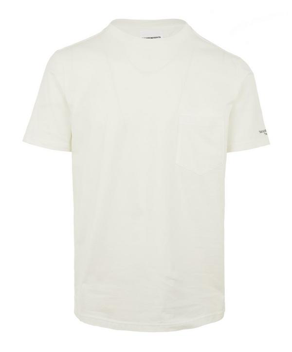 The Soloist Don't Call Short Sleeve Cotton T-shirt In White