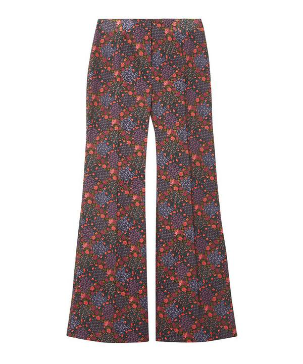 Liberty London Patti Tailored Flared Trousers In Assorted