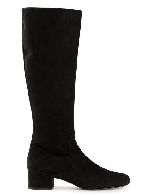 Saint Laurent 'babies' Mid-calf Boots In Eero