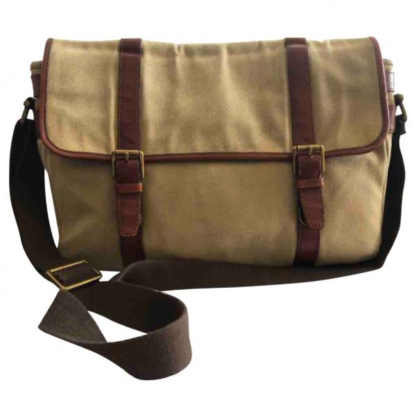 Fossil Beige Cloth Bag