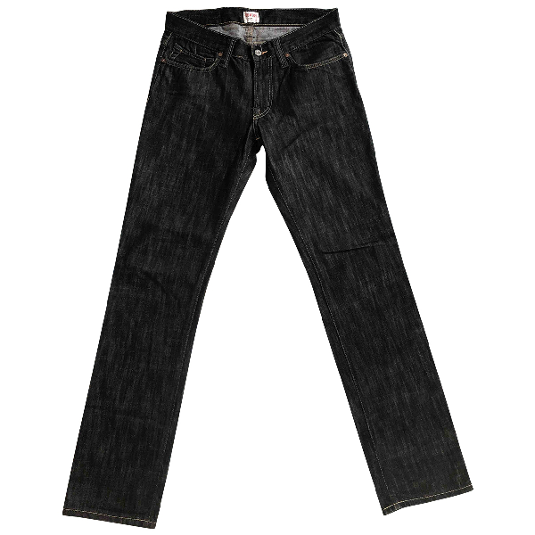 Edwin Black Cotton Jeans