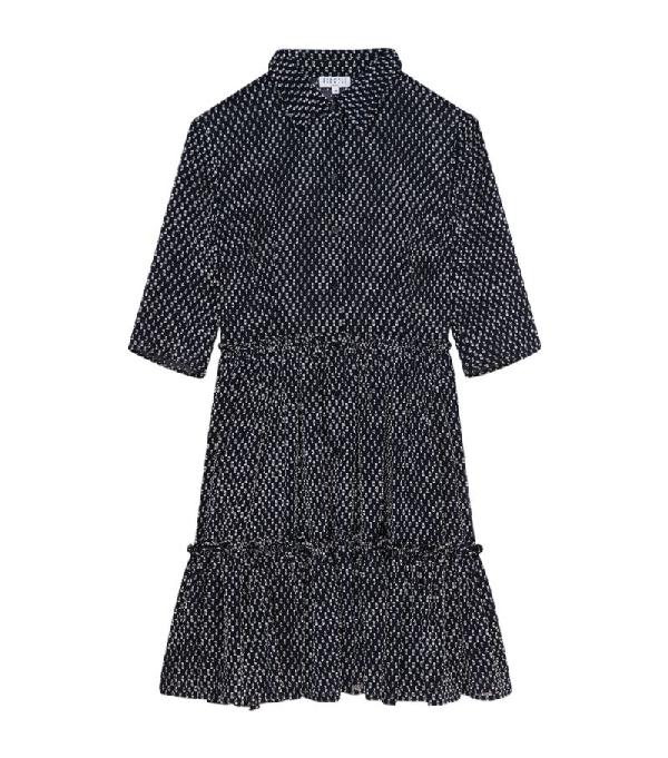 Claudie Pierlot Tiered Mini Dress