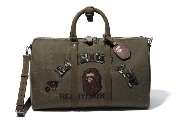 Bape X Readymade Boston Bag Olive