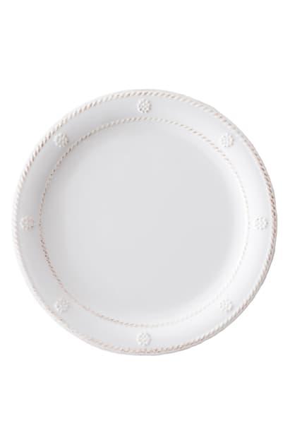 Juliska Berry & Thread Melamine Dessert Plate In Whitewash
