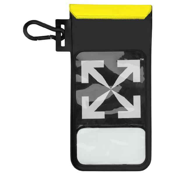 Off-white Waterproof Phone Case Black/white