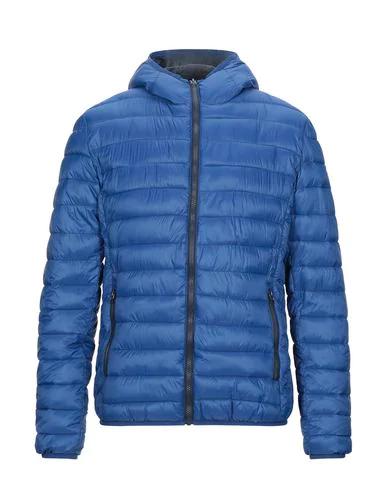 Schott Down Jacket In Blue