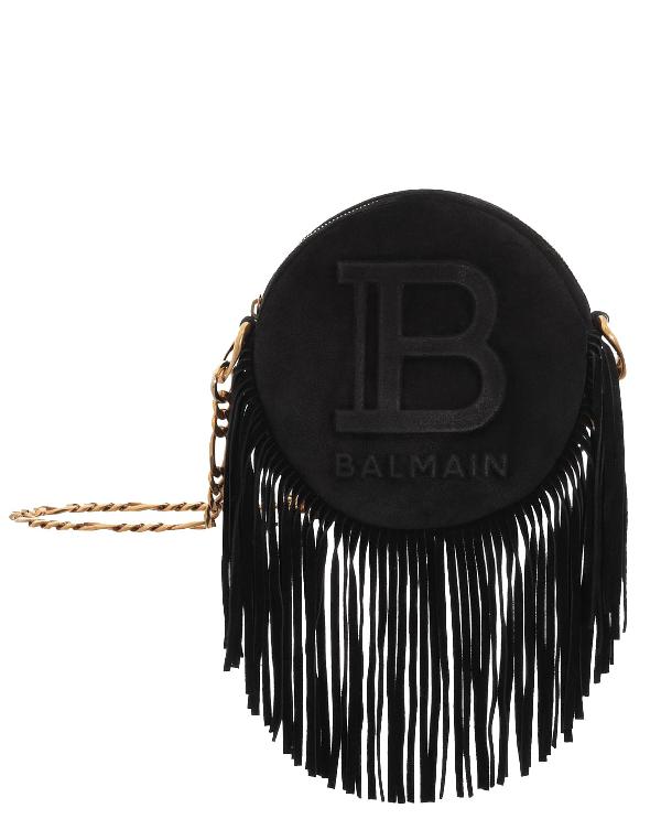 Balmain Black Disco 18 Bag