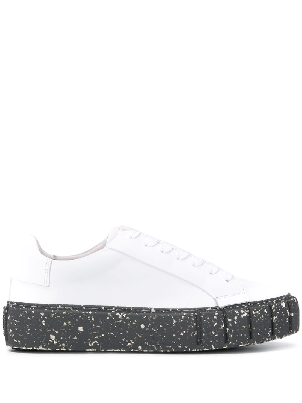 Primury Sneakers Mit Dicker Sohle In White