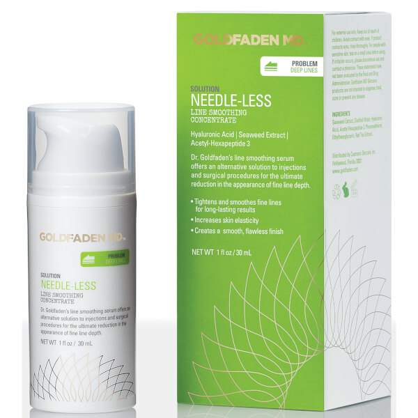 Goldfaden Md Needle Less Line Smoothing Concentrate