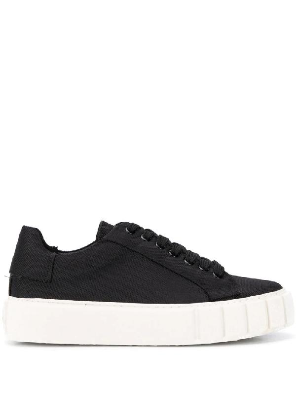 Primury Flatform-sneakers In Black