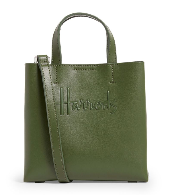 Harrods Mini Leather Kensington Bag