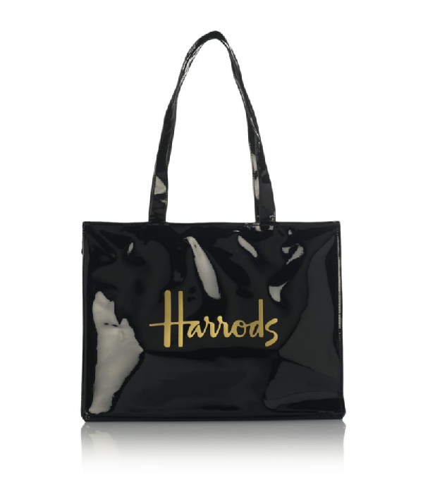 Harrods Signature Logo Tote Bag