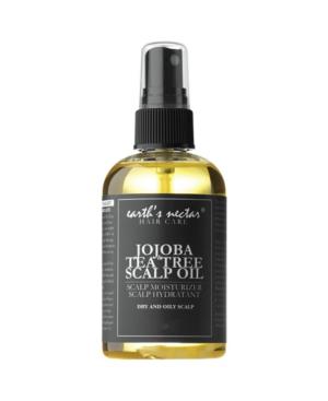Earth's Nectar Jojoba And Tea Tree Scalp Oil, 2 oz In Medium Yel