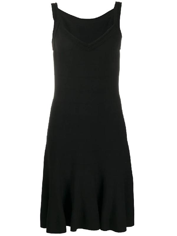 Alaïa Fitted Mini Dress In Black