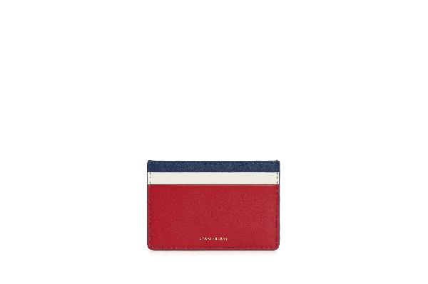 Ss20 Cardholder - Navy/ruby/vanilla