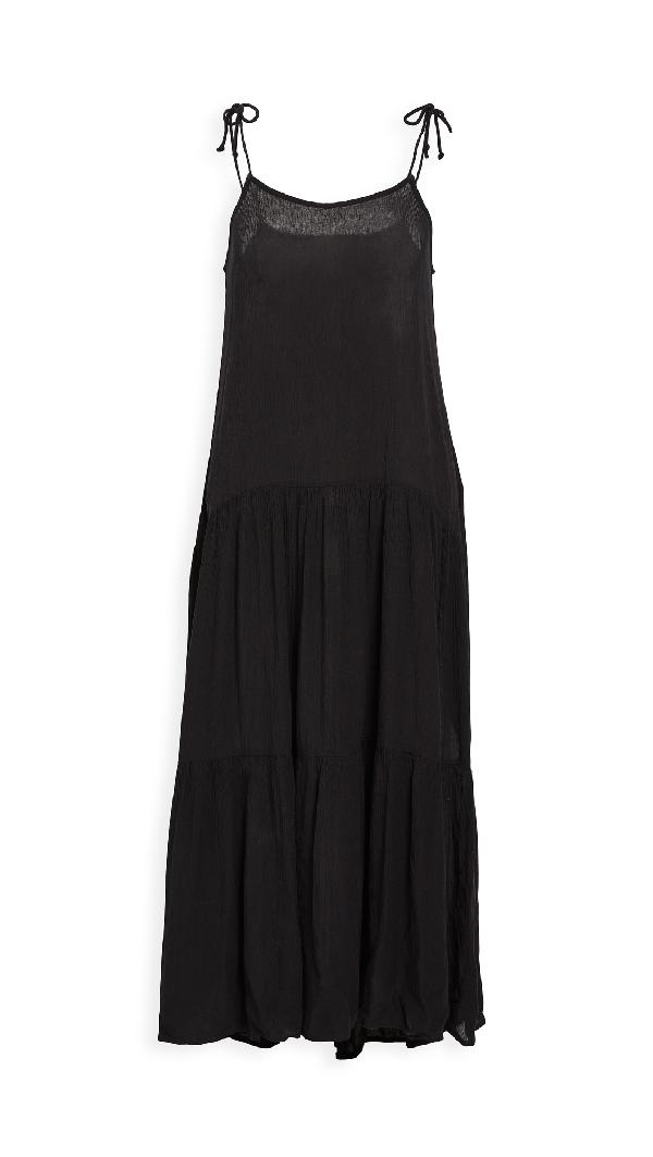 Playa Lucila Sleeveless Dress In Black