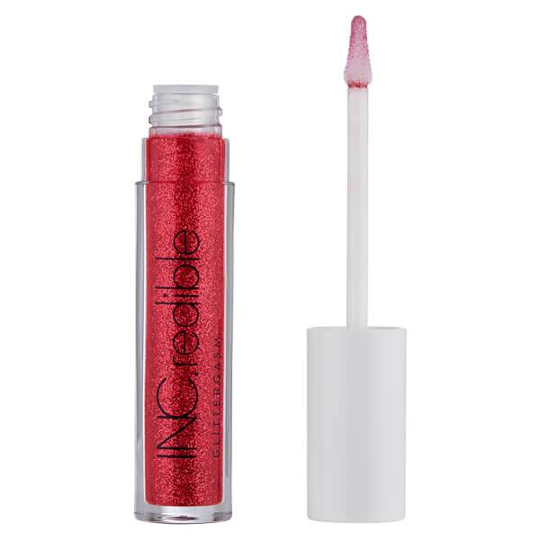 Inc.redible Glittergasm Lip Gloss (various Shades) - Red Hot Ready