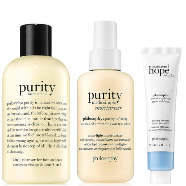 Philosophy Caggie Dunlop Hope & Grace Skin Collection (exclusive Bundle) (worth £74.50)