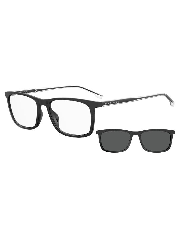Hugo Boss Boss 1150/cs Sunglasses In /ir Nero Opaco