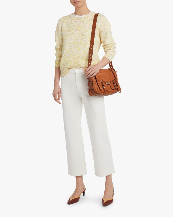 A.p.c. Daphne Sweater In Yellow
