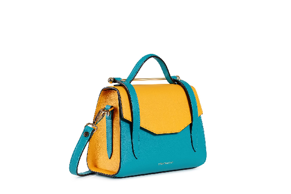 Ss20 Allegro Mini In Blossom Yellow/turquoise