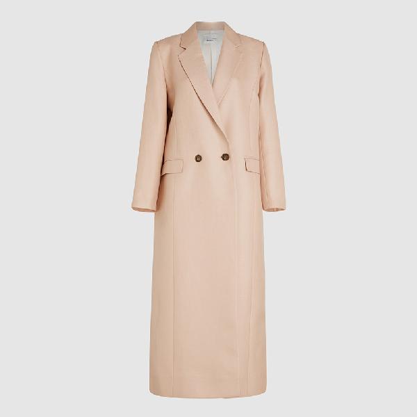 Bouguessa Pink Tailored Long Classic Blazer Size Xl