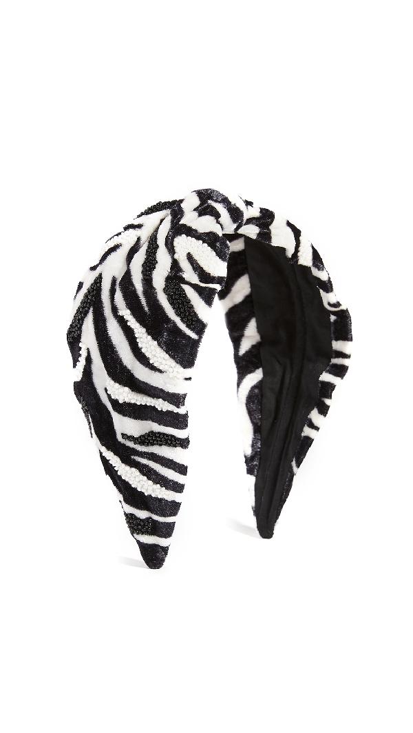 Namjosh Zebra Print Headband