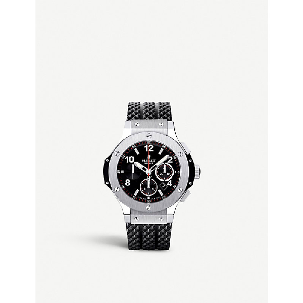 Hublot 301.sx.130.rx Big Bang Stainless Steel Watch In Silver