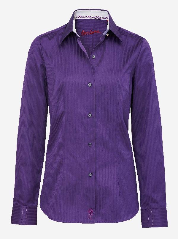 Robert Graham Shakira Adele Shirt In Purple