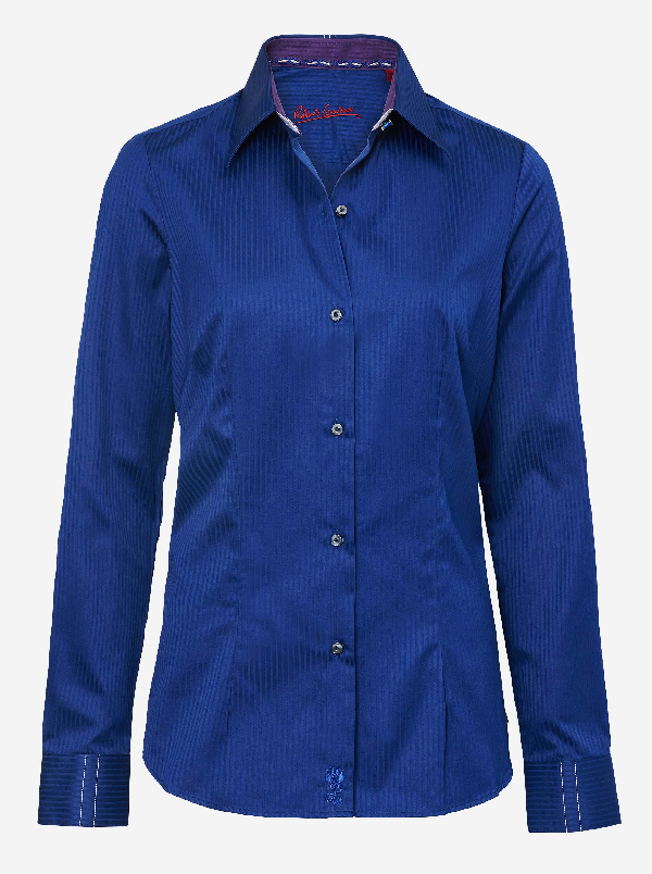 Robert Graham Shakira Adele Shirt In Navy