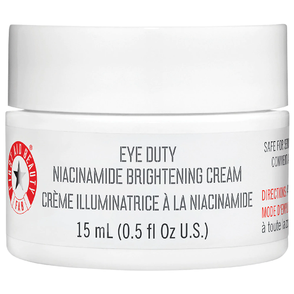 First Aid Beauty Eye Duty Niacinamide Brightening Eye Cream 0.5 oz/ 15 ml