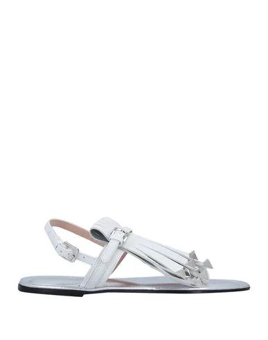 Pollini Flip Flops In White