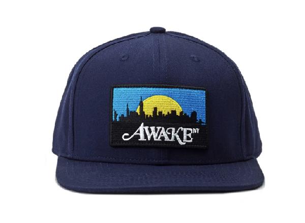 Awake Skyline Hat Navy