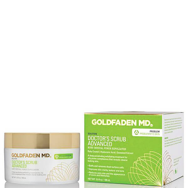 Goldfaden Md Doctor's Scrub Advanced Ruby Crystal Power Exfoliator 100ml