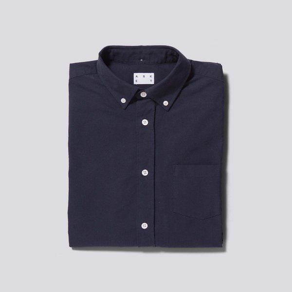 Asket The Oxford Shirt Dark Navy