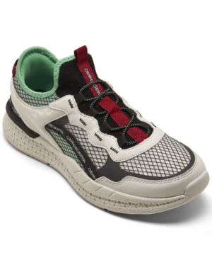 Creative Recreation Men's Ontario Casual Athletic Sneakers From Finish Line In Gray, White, Teal