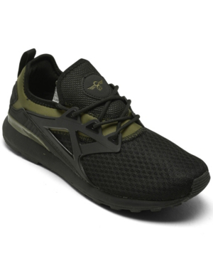 Creative Recreation Men's Metro Casual Athletic Sneakers From Finish Line In Olive, Black