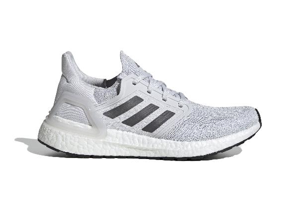 Adidas Originals Adidas Ultra Boost 20 Dash Grey (w) In Dash Grey/grey/solar Red
